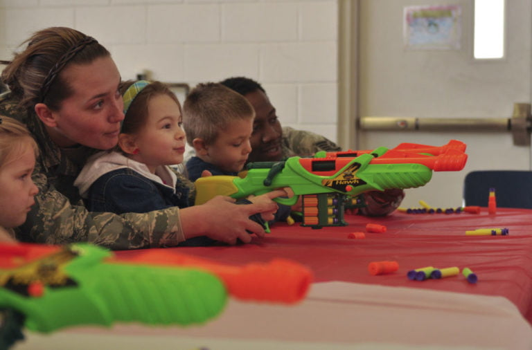 Ways to Teach Your Child With Nerf