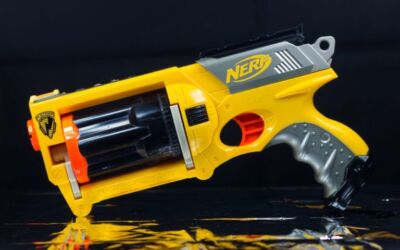 How To Create A Nerf Battlefield