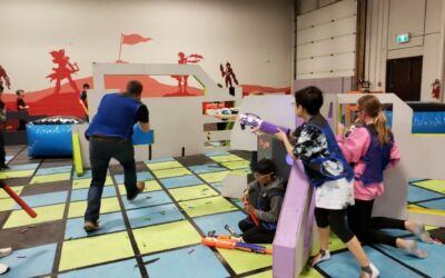 Cool Parents Choose Battle Sports for Their Kid's Birthday Parties