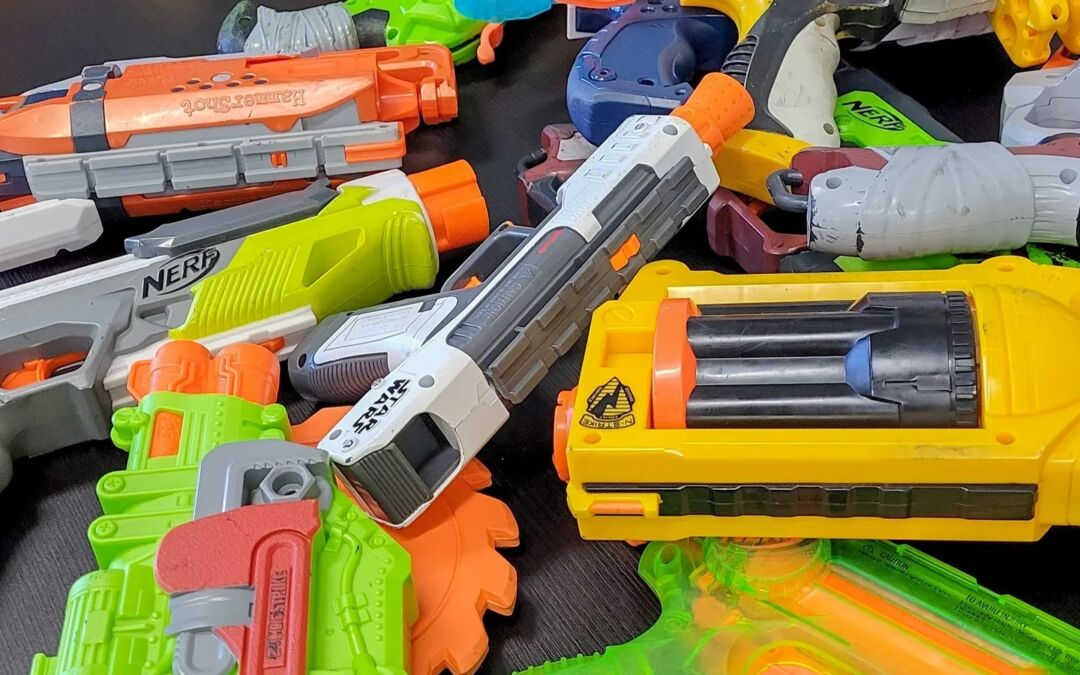 Awesome Ideas For at Home Nerf Birthday Party