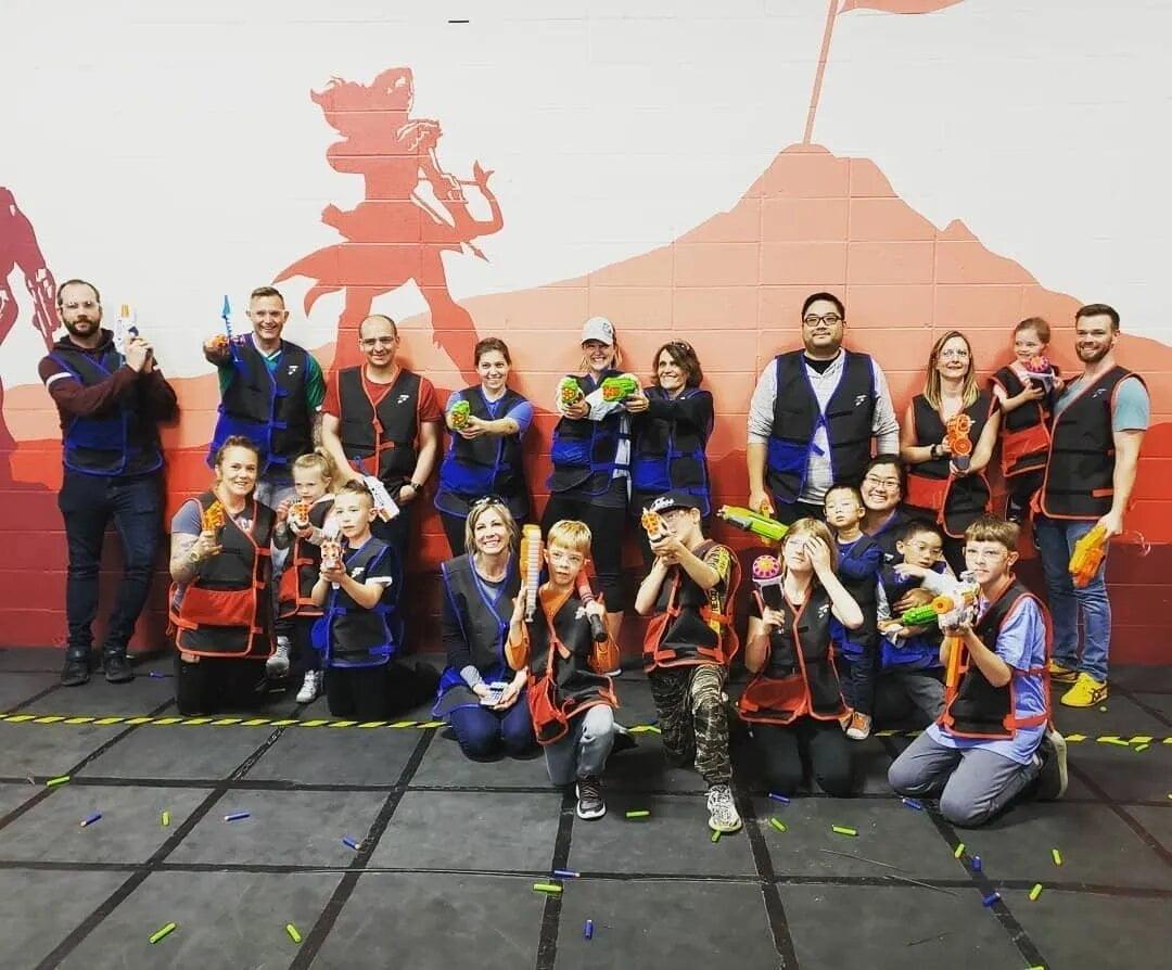 Nerf Games Edmonton